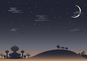 Free Arabian Nights Vector