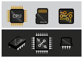 Vecteur microchip