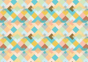 Résumé du motif triangulaire vecteur