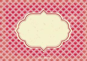 Fond d'écaille de la Saint-Valentin vecteur