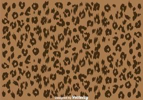 Motif de peau de léopard vecteur