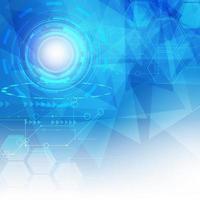 haute technologie numérique abstraite