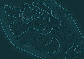 abstrait avec une topographie vecteur