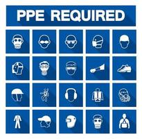 ppe symboles requis