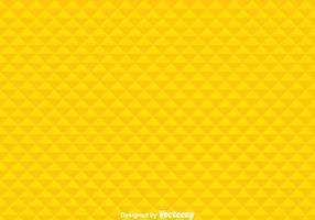 Fond géométrique jaune vecteur