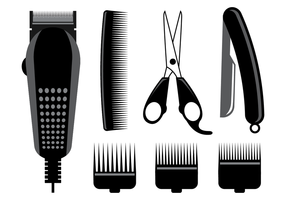 Vecteur de coupe-cheveux gratuit