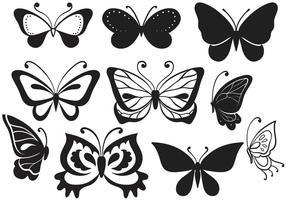 Vecteurs gratuits de papillons