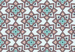 Fond d'écran étoile marocaine vecteur