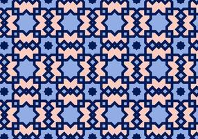 Vecteur de motif arabe carré