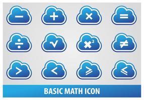 Icône mathématique de base
