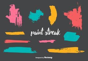 Paint Streak Vector