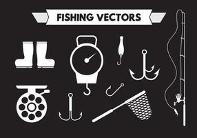 Vecteurs de pêche vecteur