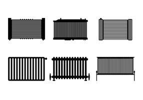 Vector de radiateur