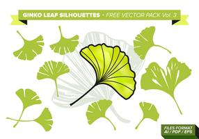 Ginko leaf free vector pack vol. 3