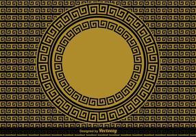 Fond de vecteur clé grecque