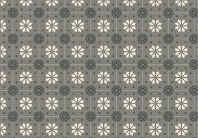 Vecteur de motif de mosaïque grise