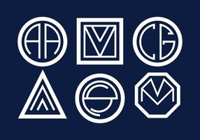 Vecteur de monogrammes
