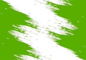 conception abstraite de coup de pinceau vert