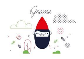 Vecteur gnome gratuit
