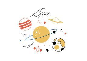 Vecteur spatial gratuit