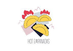 Vecteur Empanadas gratuit