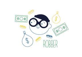 Vecteur de voleur gratuit