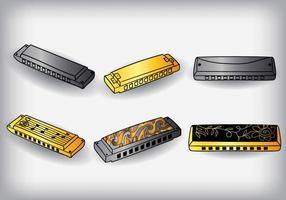 Vecteur harmonica