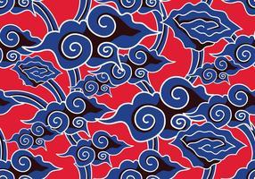 Vecteur de fond batik