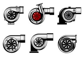 Vecteur de turbocompresseur gratuit