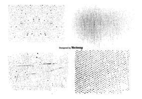 Ensemble de texture de grunge vectoriel