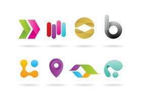 Technologie des vecteurs de logo vecteur