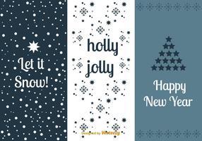 Ensembles de cartes du Nouvel An