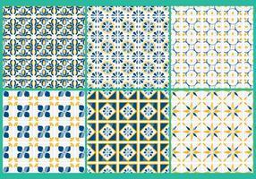 Motifs vectoriels de Talavera vecteur