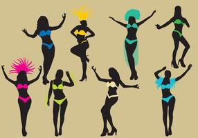 Silhouettes de samba