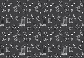 Free Roman Pillar Patterns # 2 vecteur