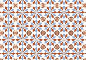 Vector en mosaïque en mosaïque en pastel
