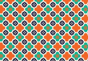 Contexte de vecteur de motif arabe