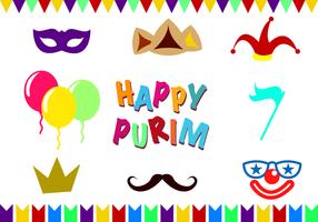 Vector Purim gratuit