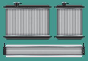 Vecteurs de radiateur de voiture vecteur