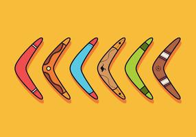 Vecteur Boomerang gratuit