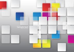 Vecteur de fond de carrés gratuits