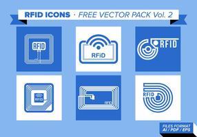 Rfid icons pack vecteur gratuit vol. 2