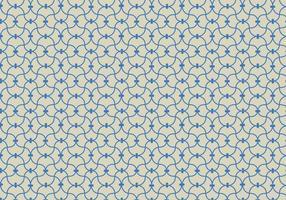 Vecteur de fond de motif linéaire bleu