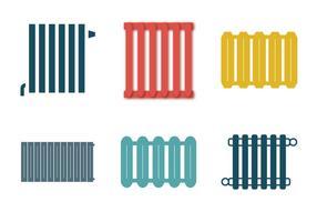 Illustration vectorielle de radiateur gratuite vecteur