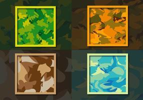 Fond d'écran Multicam Camouflage Pattern vecteur