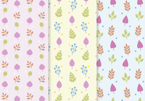 Free Leaf Vector Pattern