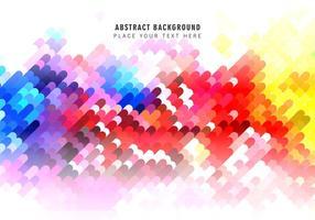 Motif abstrait coloré vecteur