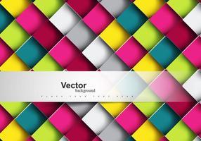 Motif de mosaïque coloré vecteur