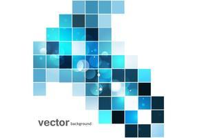 Mosaïque colorée abstraite vecteur