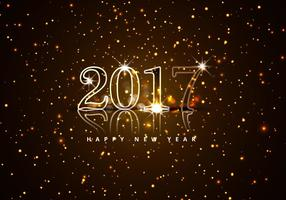 Bonne année 2017 avec Glitters
